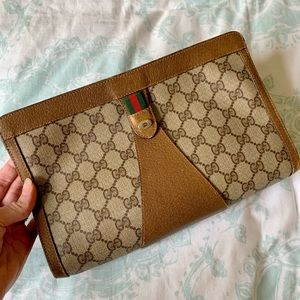 Vintage Gucci Ophidia Clutch - Very Good Condition